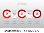 infographics step by step....   Shutterstock .eps vector #644329177