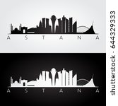 astana skyline and landmarks