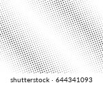abstract halftone dotted...   Shutterstock .eps vector #644341093