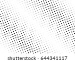 abstract halftone dotted...   Shutterstock .eps vector #644341117