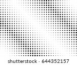 abstract halftone dotted...   Shutterstock .eps vector #644352157