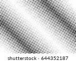 abstract halftone dotted...   Shutterstock .eps vector #644352187
