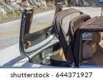 vintage convertible car with... | Shutterstock . vector #644371927