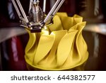 3d printer printing  also known ... | Shutterstock . vector #644382577