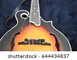 making music  vintage mandolin | Shutterstock . vector #644434837