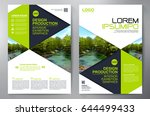 business brochure. flyer design.... | Shutterstock .eps vector #644499433