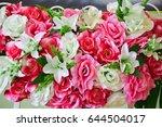 bouquet at the wedding | Shutterstock . vector #644504017