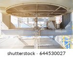 gas cooler fin tube type and... | Shutterstock . vector #644530027