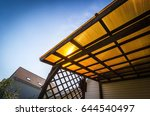 the roof of the veranda of... | Shutterstock . vector #644540497