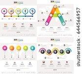 timeline infographics design... | Shutterstock .eps vector #644566957