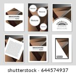 abstract vector layout... | Shutterstock .eps vector #644574937