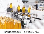 automated process of production ... | Shutterstock . vector #644589763