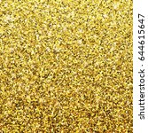 vector gold background with... | Shutterstock .eps vector #644615647