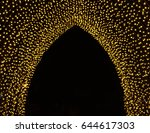 ramadan and eid decorative... | Shutterstock . vector #644617303