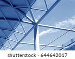 railway station platform | Shutterstock . vector #644642017