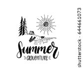 Summer Adventure Poster With...