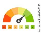 credit score | Shutterstock .eps vector #644668153