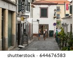 funchal madeira  portugal ... | Shutterstock . vector #644676583