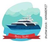 luxury two deck motor yacht...