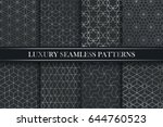 luxury ornamental seamless... | Shutterstock .eps vector #644760523