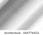 abstract halftone pattern... | Shutterstock .eps vector #644776423
