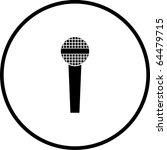 microphone symbol | Shutterstock . vector #64479715