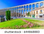Segovia  Spain. View At Plaza...
