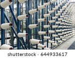textile industry | Shutterstock . vector #644933617