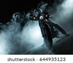 high power motorcycle chopper... | Shutterstock . vector #644935123