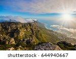 top view of the atlantic ocean... | Shutterstock . vector #644940667