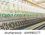 coarse cotton factory in... | Shutterstock . vector #644980177