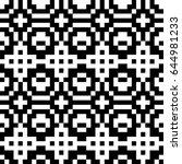 vector seamless pattern.... | Shutterstock .eps vector #644981233