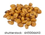 toasted corn | Shutterstock . vector #645006643