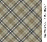 tartan seamless pattern... | Shutterstock .eps vector #645048907