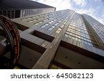 toronto   january 15  2012  the ... | Shutterstock . vector #645082123