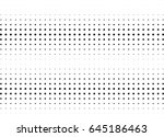 abstract halftone dotted... | Shutterstock .eps vector #645186463