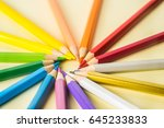 business concept   top view of... | Shutterstock . vector #645233833