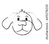 monochrome blurred silhouette... | Shutterstock .eps vector #645278233