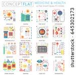 infographics mini concept... | Shutterstock . vector #645302173