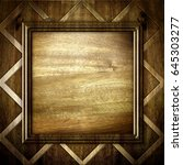 wooden background | Shutterstock . vector #645303277