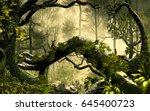 3d illustration of forest... | Shutterstock . vector #645400723