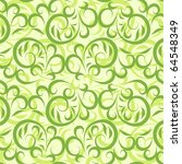 lace vector green background | Shutterstock .eps vector #64548349