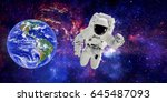 "astronaut in outer space.""... 