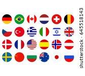 vector illustration of world... | Shutterstock .eps vector #645518143