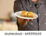 close up of a delicious... | Shutterstock . vector #645590143