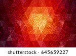dark red vector christmas... | Shutterstock .eps vector #645659227