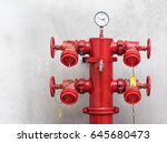 Red Fire Hydrant System  ...