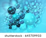 beautiful abstract background ... | Shutterstock . vector #645709933