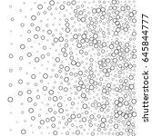 vector bubbles pattern like a... | Shutterstock .eps vector #645844777