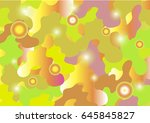 pink_green background. vector... | Shutterstock .eps vector #645845827